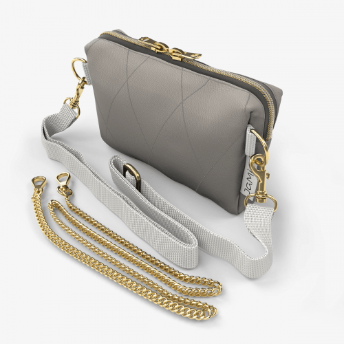Bellybag - taupe gold